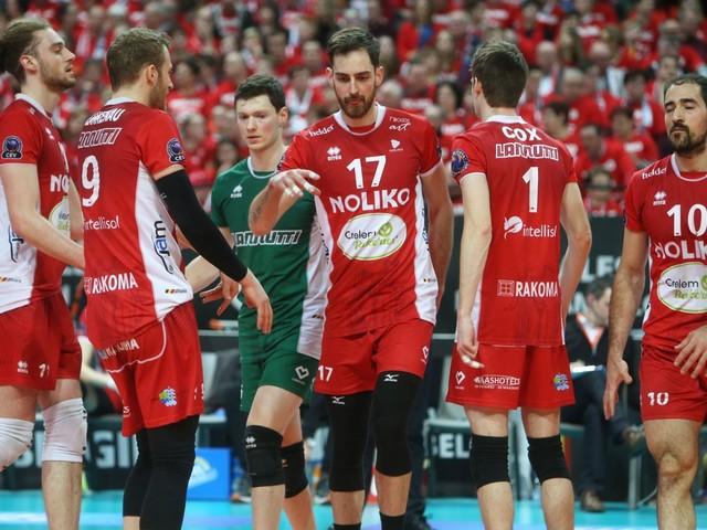 Roeselare aan kop in EuroMillions Volley League na zege tegen Leuven