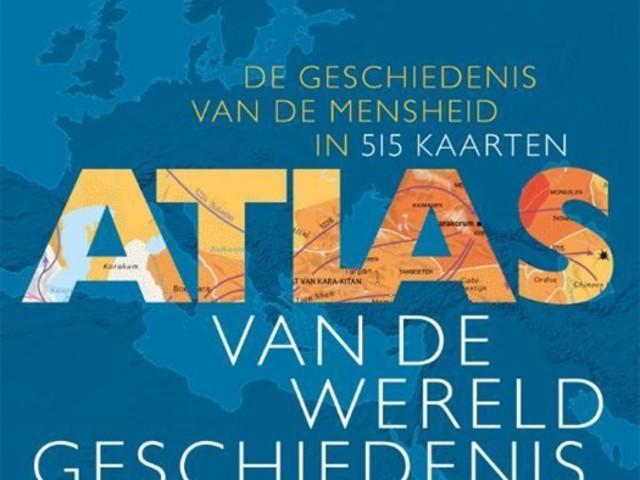 BOEK. Christian Grataloup - Atlas van de wereldgeschiedenis