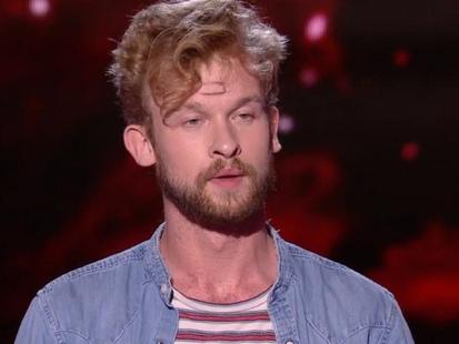 """Théophile Rénier, ancien gagnant de version belge, a tenté sa chance à The Voice France ce samedi: """"Je viens remettre mon titre en jeu"""""""