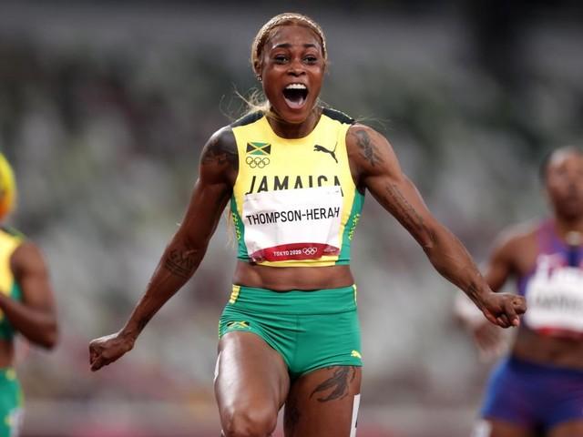 JO 2020: deuxième titre consécutif sur 100 m pour Elaine Thompson-Herah et nouveau record olympique