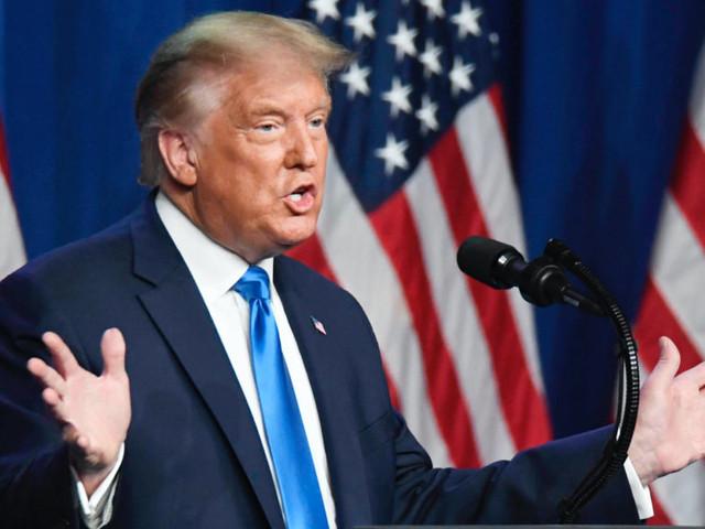 """Donald Trump over coronavirus: """"We lanceerden de grootste mobilisatie sinds de Tweede Wereldoorlog"""""""