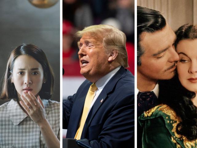 """Pourquoi Trump dit préférer """"Autant en emporte le vent"""" à """"Parasite"""" ?"""