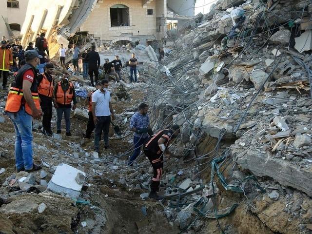 Conflit israélo-palestinien: le bilan dépasse les 100 morts à Gaza, tirs de trois roquettes du sud du Liban vers Israël (Mise à jour)