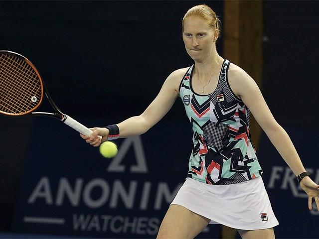 Alison Van Uytvanck gaat onderuit in finale ITF Poitiers