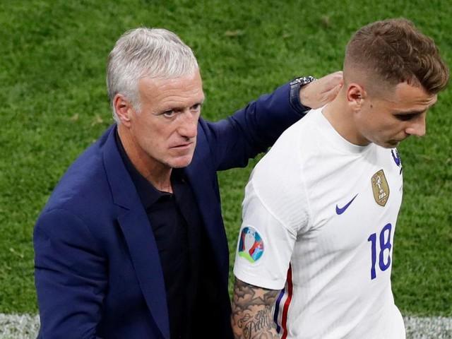 Inquiétude en France: une cascade de blessés avant les huitièmes de finale de l'Euro
