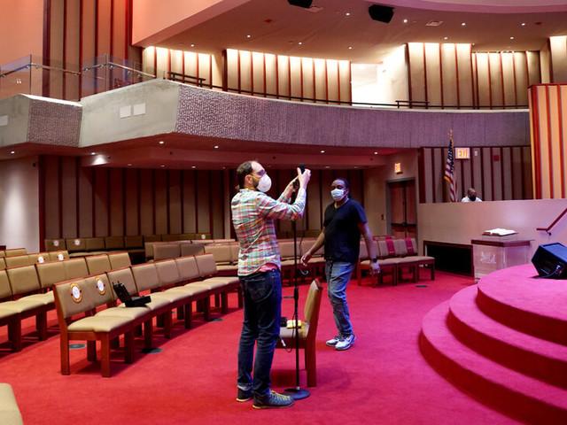 How a Times Team Captured the Sound of a Harlem Gospel Choir