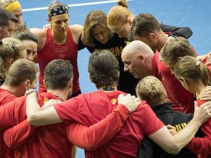 Fed Cup: La Belgique tête de série des qualifications en vue la nouvelle phase finale