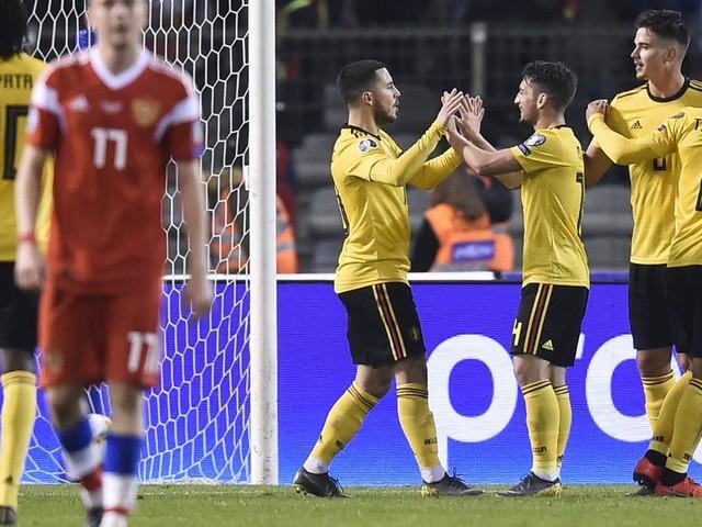 Les Diables écartent la Russie et démarrent du bon pied leur route vers l'Euro 2020