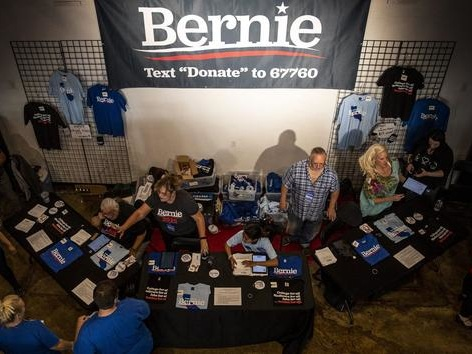 Primaires démocrates: quand l'argent ne vient plus des grands contributeurs