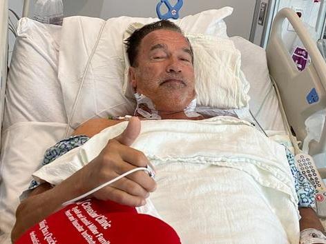 Opération du cœur réussie pour Arnold Schwarzenegger