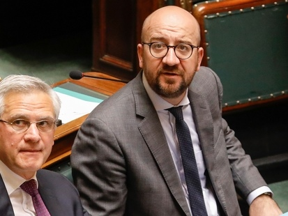 Kris Peeters remet sa démission à Charles Michel