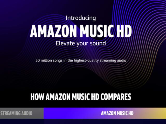 Amazon Music lance une offre audio haute définition