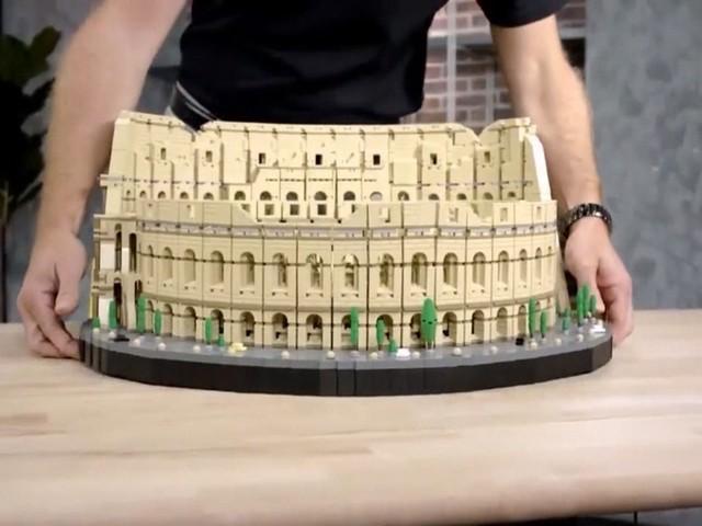 De grootste Lego set tot nu toe: het Colosseum met 9.000 blokjes en stevig prijskaartje