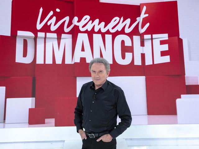 Les invités de Vivement Dimanche ce week-end sur France 2.