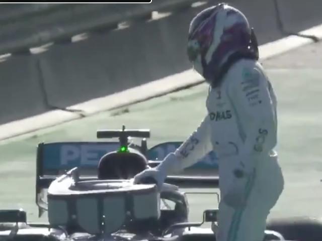 Mercedes F1-team in de problemen, Ferrari snelste op voorlaatste testdag