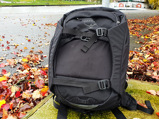 Test du sac à dos d'Osprey, le Metron !