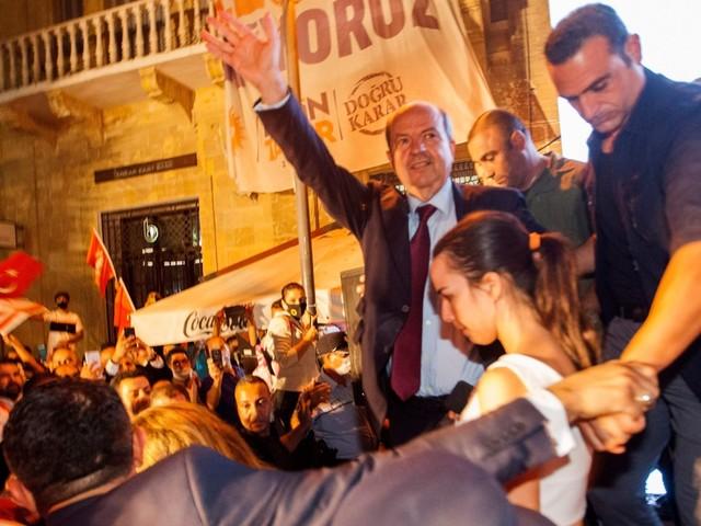 Erdogan-aanhanger wordt president van Noord-Cyprus