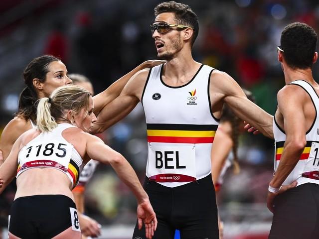 JO 2020: le relais 4x400m mixte belge termine à la 5e place en battant le record national