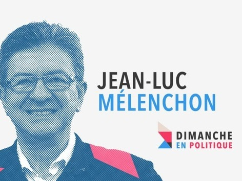 Jean-Luc Mélenchon invité de Dimanche en politique, ce week-end sur France 3.