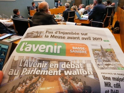 Discussions intenses entre la direction de l'Avenir et la rédaction pour sortir de la crise