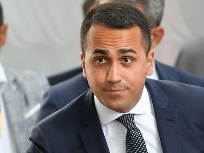 """Pour Di Maio, il n'y a qu'un seul """"responsable"""" de la crise politique en Italie"""