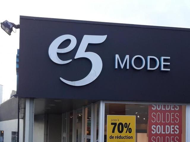 À Braine-l'Alleud et à Wavre, E5 Mode fermera bientôt ses portes