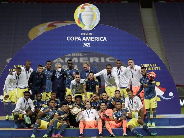 Colombia klopt Peru en pakt derde plek op Copa America