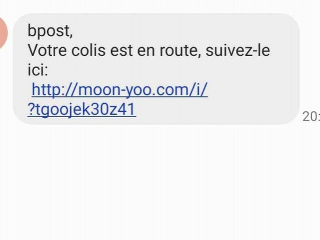 """""""Votre colis est en route"""": attention si vous recevez ce sms, ne cliquez pas sur un lien malveillant"""