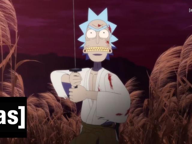 La série Rick et Morty rend un bel hommage aux samouraïs avec ce court-métrage sanglant
