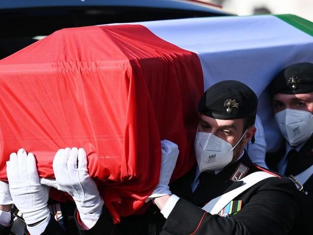 Assassinat de l'ambassadeur d'Italie en RDC: la veuve de l'ambassadeur italien évoque une «trahison»