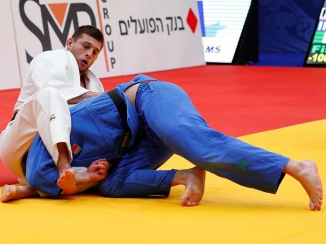 Judo: première médaille européenne en -100 kg pour Alexandre Iddir, en bronze