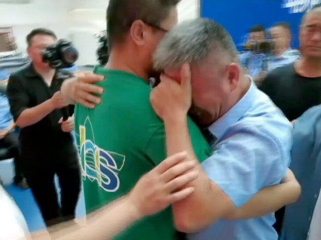 Parents Who Never Stopped Searching Reunite With Son Abducted 24 Years Ago