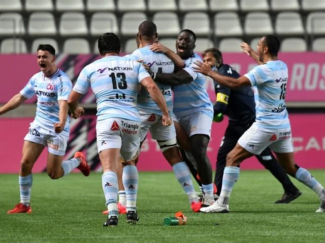 Top 14: le Racing remporte le derby face au Stade français pour oublier l'Europe