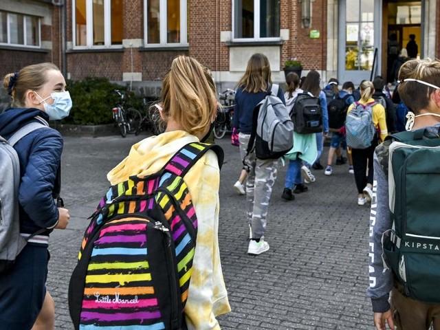 Coronavirus dans nos écoles: la situation épidémique est assez stable depuis le retour des congés d'automne
