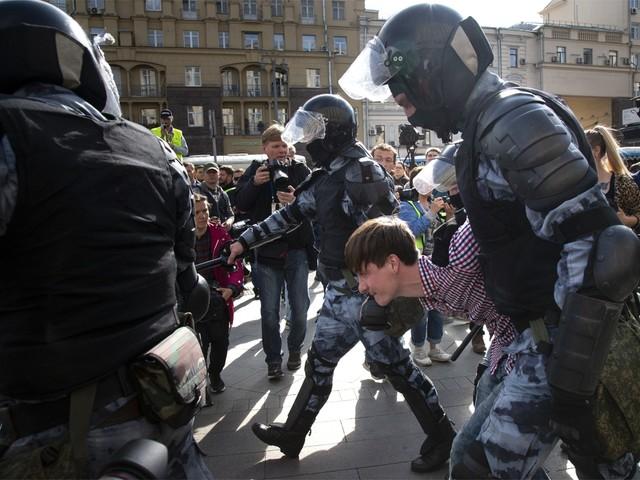 Rusland vermoedt 'buitenlandse inmenging' bij betogingen