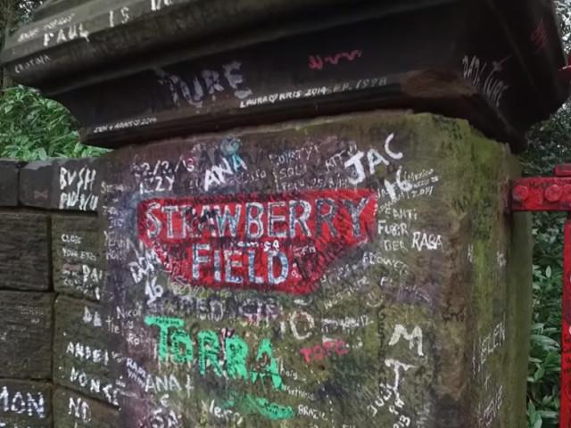 """The Beatles: le """"Strawberry Field"""" est enfin ouvert au public"""