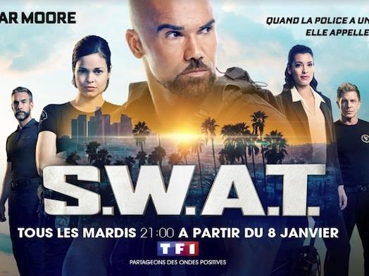 Audiences prime 22 janvier : S.W.A.T. leader en hausse (TF1) devant «Au-delà des apparences» (France 3)