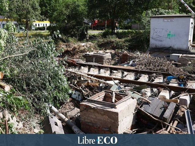 """""""Il ne reste plus rien des anciennes voies et connexions"""" : le chemin de fer allemand estime les dégâts des inondations à plus d'un milliard d'euros"""