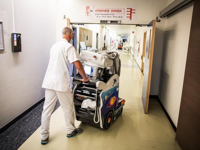 Minder dan 5.000 patiënten in het ziekenhuis