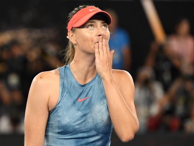"""Maria Sharapova stopt met tennis: """"Vergeef het mij, maar ik zeg vaarwel"""""""