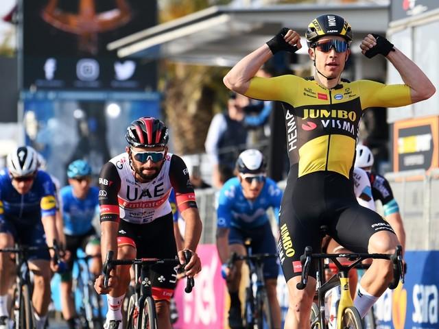 Wout van Aert wint de rit die hij vooraf niet zou winnen