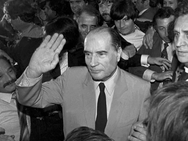 Mitterrand ou l'espoir d'une nouvelle époque