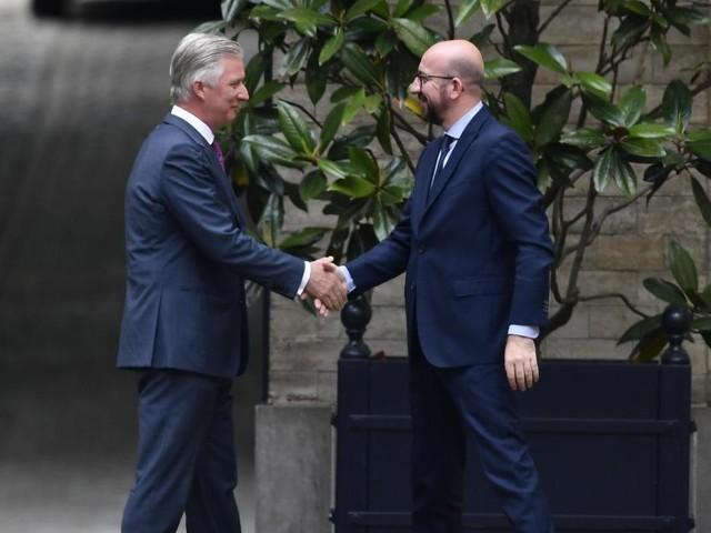 Le Premier ministre Charles Michel chez le Roi