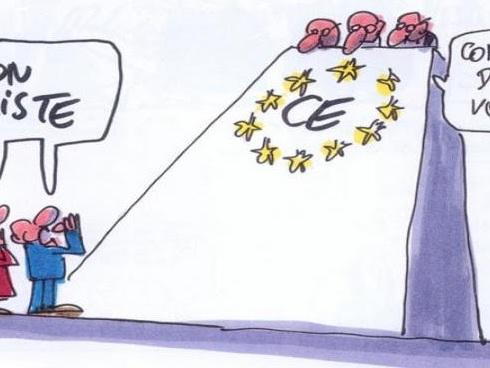 Union Européenne : une vision de la démocratie ... en carton-pâte ?