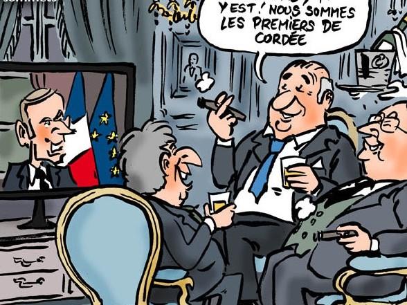 6 mois avec Macron : le décompte des milliards pour les uns et des larmes pour les autres