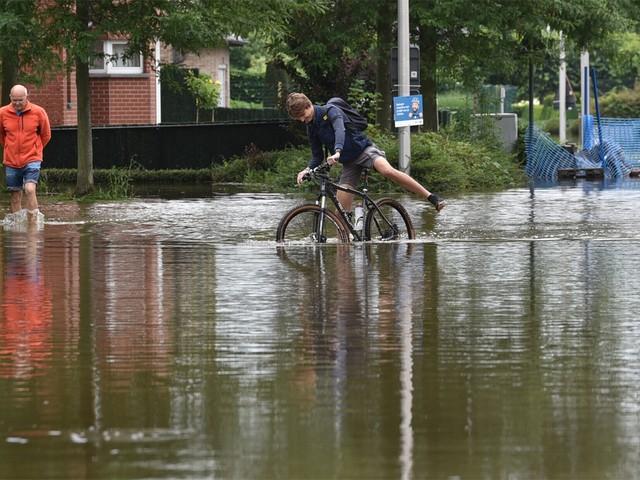 Geen regen meer, maar waterpeil kan nog stijgen