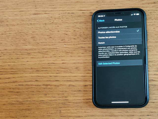 Comment limiter l'accès à vos photos pour plus de confidentialité avec iOS 14?