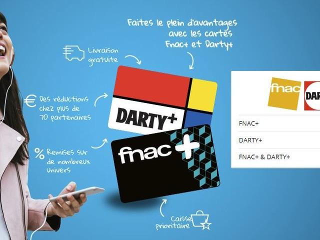 [Bon Plan] Abonnement d'un an à la carte Fnac+ ou Darty+ pour 9,99 euros