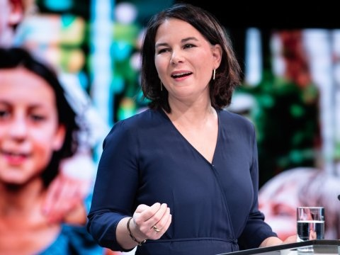 Duitse groenen kiezen co-voorzitter Baerbock als kandidaat-kanselier