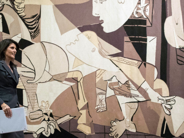 'Guernica' Tapestry Is Taken Back From U.N. by a Rockefeller